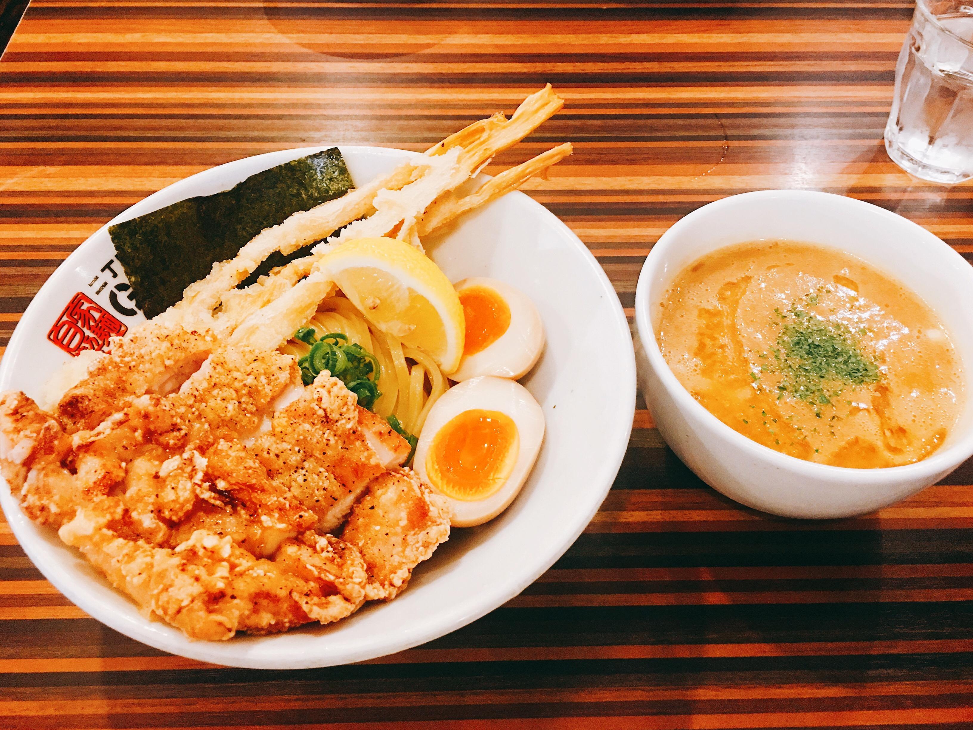 新宿 つけ麺 二丁目つけめん ガチ