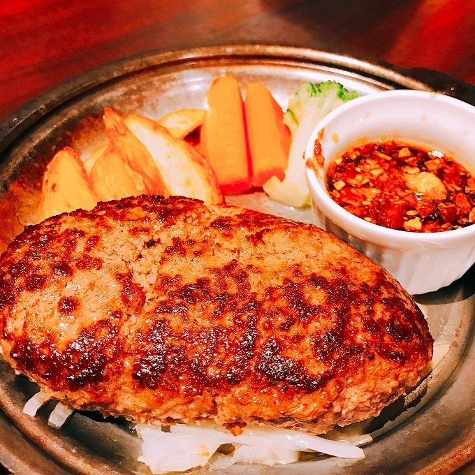 渋谷 居酒屋 ハンバーグ 肉の楽園
